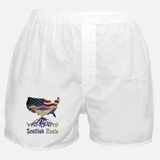 American Scottish Roots Boxer Shorts