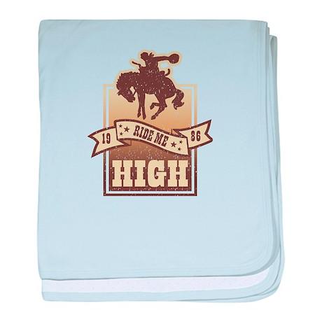 Ride Me High baby blanket