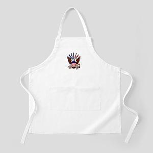USN Eagle Flag Bevel Apron