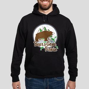 Bear's Gone Fishin' Hoodie (dark)