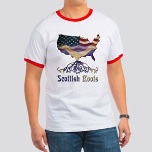 American Scottish Roots Ringer T