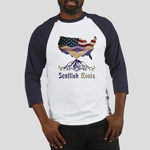 American Scottish Roots Baseball Jersey