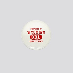 Property of Wyoming, Equality State Mini Button