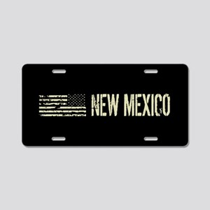 Black Flag: New Mexico Aluminum License Plate