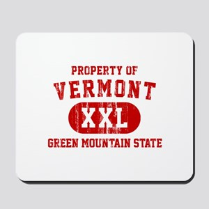 Property of Vermont, Green Mountain State Mousepad