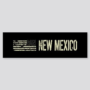 Black Flag: New Mexico Sticker (Bumper)