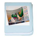 Lego-Dragon01_DSC05145 baby blanket