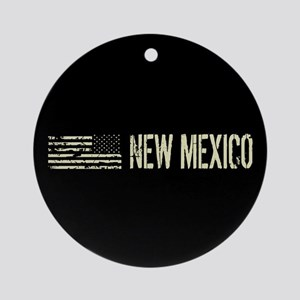 Black Flag: New Mexico Round Ornament