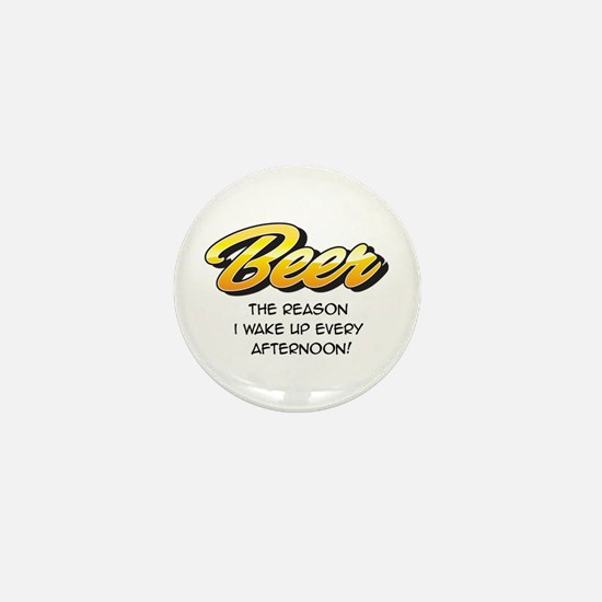 Afternoon Beer Mini Button