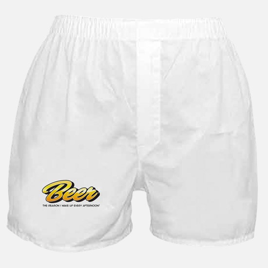 Afternoon Beer Boxer Shorts