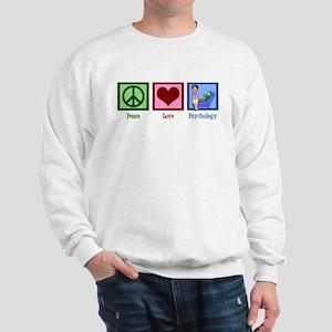 Peace Love Psychology Sweatshirt