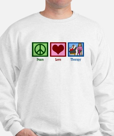 Peace Love Therapy Jumper
