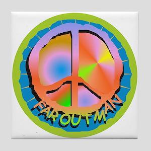 Far Out Man / Tile Coaster