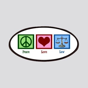 Peace Love Law Patches