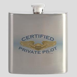 Pilot Wings (gold/blue) Flask