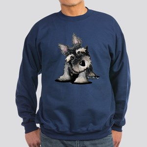 KiniArt Schnauzer Sweatshirt (dark)