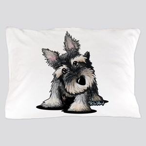 KiniArt Schnauzer Pillow Case