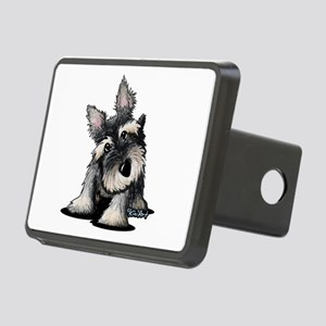 KiniArt Schnauzer Rectangular Hitch Cover
