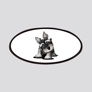 KiniArt Schnauzer Patches