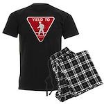 Yield To D.O.T. Men's Dark Pajamas