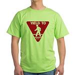 Yield To D.O.T. Green T-Shirt
