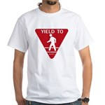 Yield To D.O.T. White T-Shirt