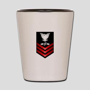 Navy Aviation Electronics Tech First Class Shot Gl