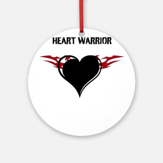 Heart Warrior Ornament (Round)