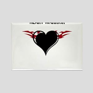 Heart Warrior Rectangle Magnet