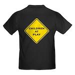 Children At Play Kids Dark T-Shirt