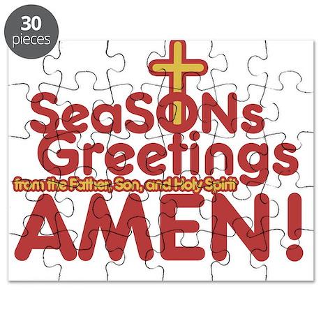 Religious Christmas Puzzle