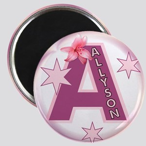 Allyson 2.5 inch Star Initial Magnet