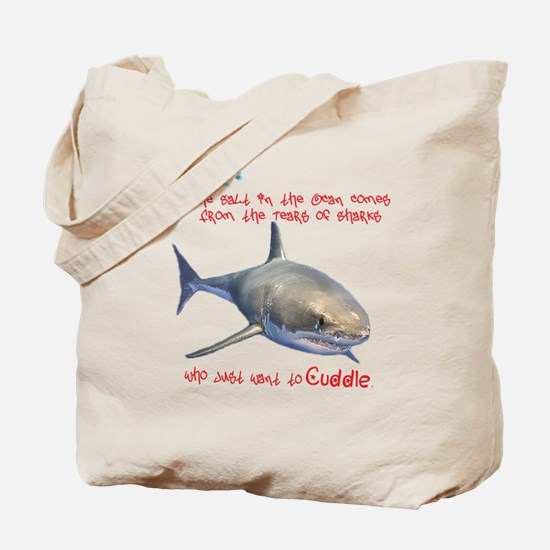 The Tears of a Shark (Non-Redundant) Tote Bag