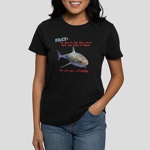 Tears of Sharks (non-Redundant) Women's Dark T-Shi