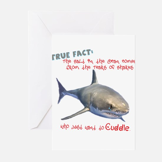 Shark Tears Greeting Cards (Pk of 20)