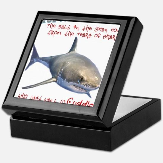 Shark Tears Keepsake Box