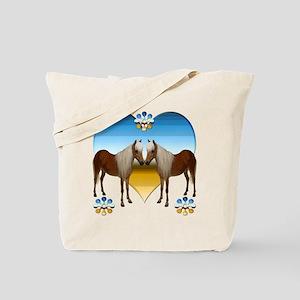 Pony Kiss Tote Bag