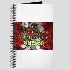 The Prime Minister Sucks Journal