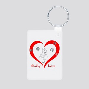 BULLY LOVE Aluminum Photo Keychain
