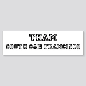 Team South San Francisco Bumper Sticker