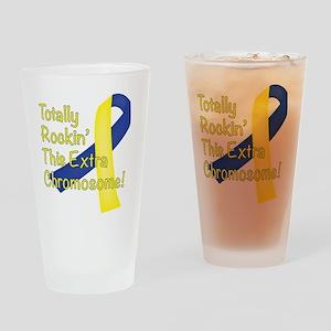 Rockin Chromosome Drinking Glass