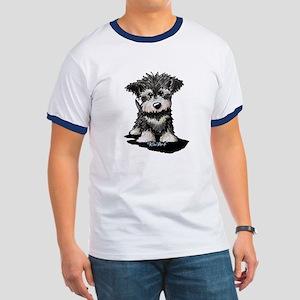 KiniArt Schnauzer Pup Ringer T