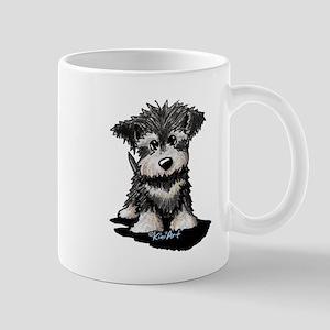 KiniArt Schnauzer Pup Mug