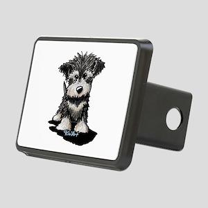 KiniArt Schnauzer Pup Rectangular Hitch Cover