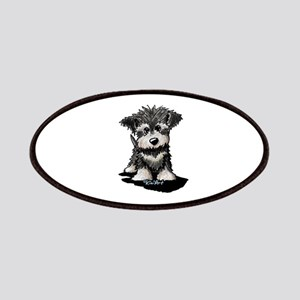 KiniArt Schnauzer Pup Patches