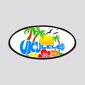 Ukulele Island Logo Patches
