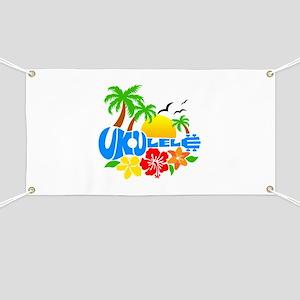 Ukulele Island Logo Banner