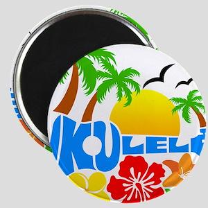 Ukulele Island Logo Magnet
