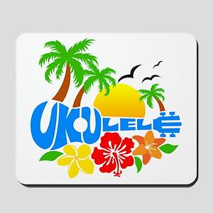 Ukulele Island Logo Mousepad