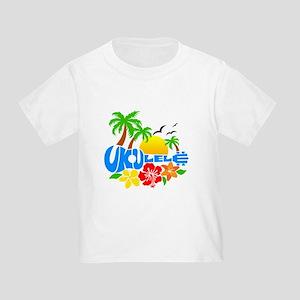 Ukulele Island Logo Toddler T-Shirt